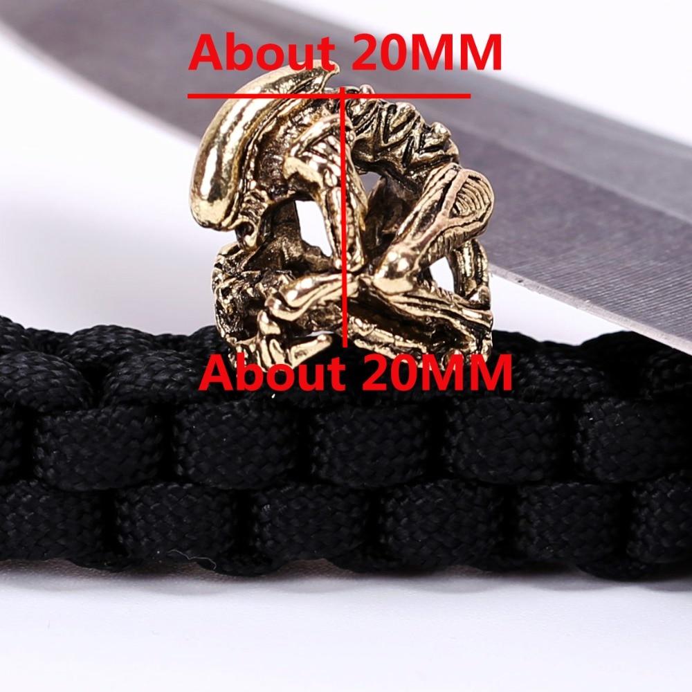 1PC Paracord Muncuq Paracord Bilərzik Aksesuarları üçün Metal - Düşərgə və gəzinti - Fotoqrafiya 6