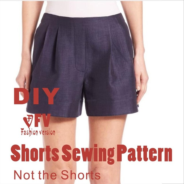 Pants sewing pattern The trousers pattern(Not the pants) Shorts ...