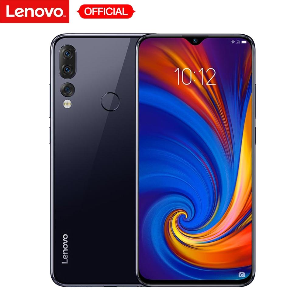 Global Version Lenovo Z5s 4GB 64GB Snapdragon 710 Octa Core Mobile Phone 6.3'' 16MP+8MP+5MP Triple Rear Cameras Smartphone