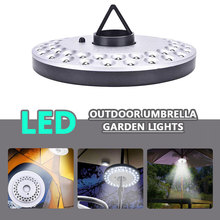 48 Led Light White Patio Lamp Camping Yard Lights Umbrella Tent Garden Lighting Outdoor Portable Lantern Interior Design