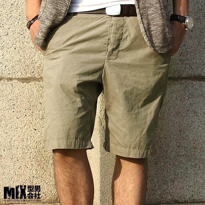 2013-khaki-slim-knee-length-Men-fashion-capris-pants-men-s-clothing-casual- shorts-k043.jpg