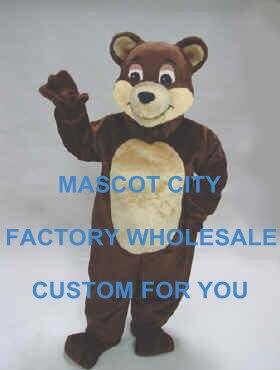 mascotte costume adulto  Miglior prezzo cioccolato bear mascot costume adulto dimensione dei ...
