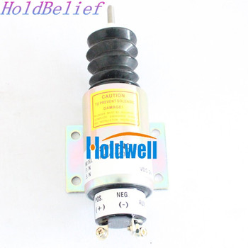 Solenoide de servicio continuo Holdwell 2000-4501 12 voltios 2001 solenoide de doble bobina