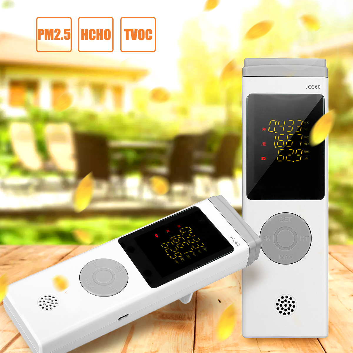 HCHO TVOC PM2.5 Real Time Formaldehyde Detector Detects Testing Record Analyzed USB Charging Monitor Air Quality for Home Office цена