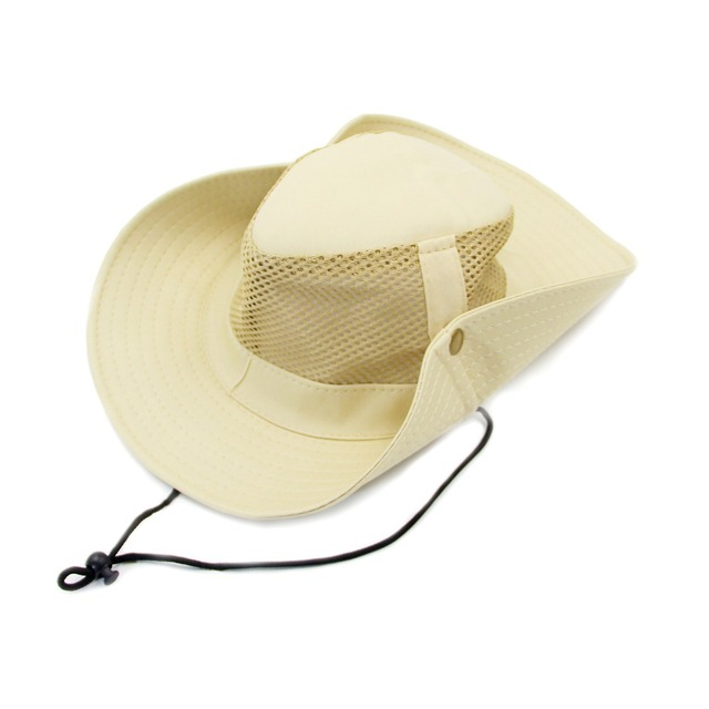 3b1bad7a76e Hot Summer Outdoors Packable Breathable Sun Hat Wide Brim Soft Mesh Fishing  Hunting Hiking Breezer Hat For Men Women  MHB001-005