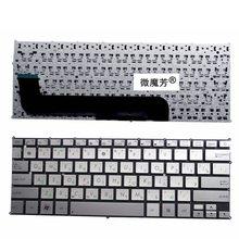 Ru Mới Dành Cho Asus UX21 UX21E UX21A Bàn Phím Laptop Nga Màu Bạc