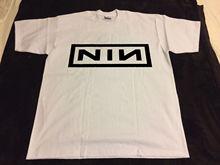 NIN Pretty 1990 Nine Inch Nails Hate Machine T-Shirt vtg 90s industrial reprint New Man Design T Shirt Print