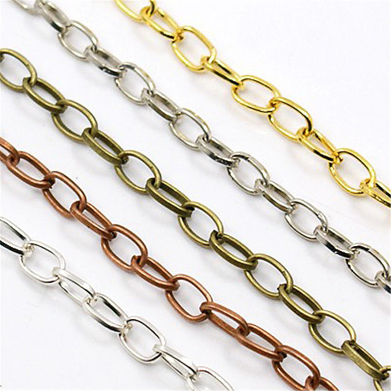 10pcs Bracelets Antique Bronze Iron Cross Adjustable Chains Bracelet DIY Making With Lobster Claw Clasps 205mm; Clasp: 12x7x3mm