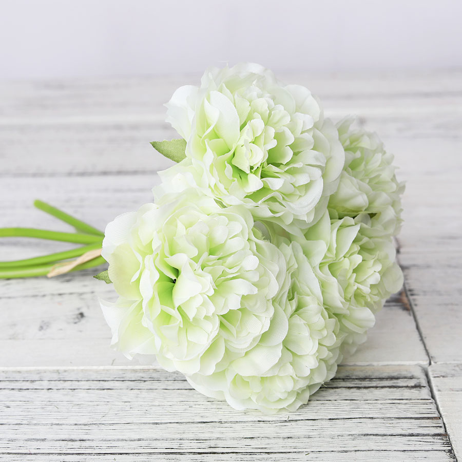 1 Bouquet 5 Heads High Quality Artificial Flower for Home/Wedding Party/Valentines day Decor 8