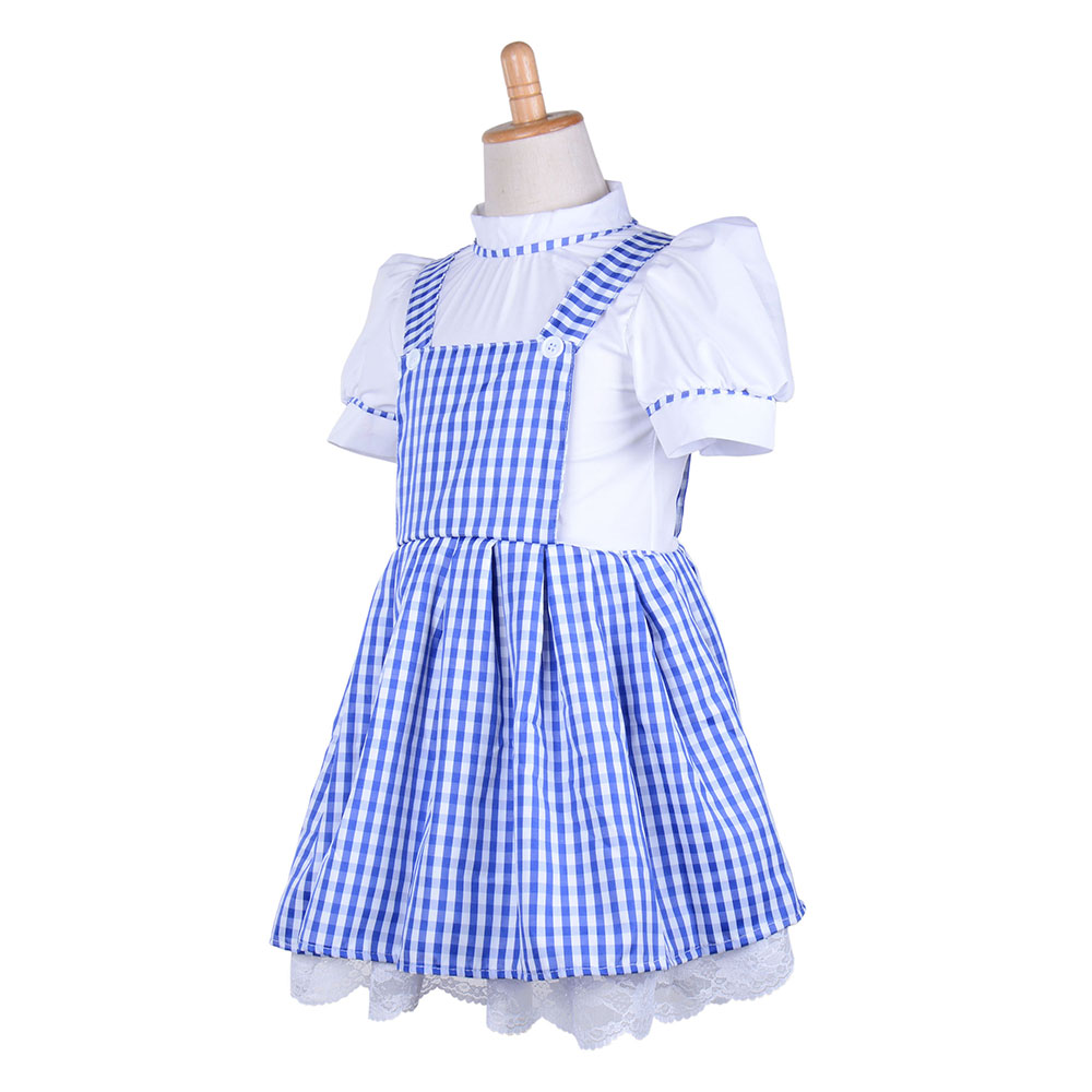 2775518208 US $25.89 30% OFF|Little Girls Plaid Purple Dress Vintage Overalls Strap A  line Gingham Strappy Suspender Pinafore Skirt Petticoat Mini Dress-in Movie  ...