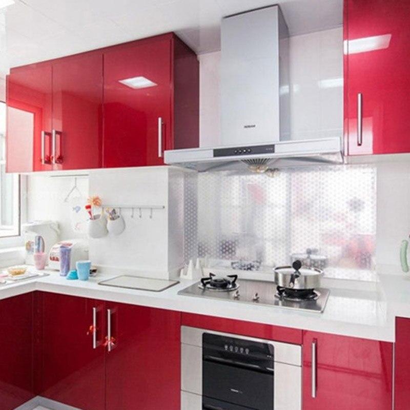 Kaka Pvc Kitchen Furniture: 3M/5M/10M Paint Flash Point Surface Wallpaper PVC