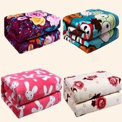 Толстое электрическое одеяло с подогревом, защитное электрическое одеяло, двойной одинарный Электрический коврик, подогреватель для тела