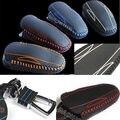 Genuine Leather Car Smart Remote Key Fob Case Holder Cover for Tesla Model S