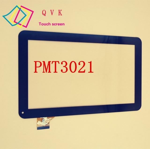 أسود ل 10.1 بوصة prestigio multipad wize 3021 3G PMT3021 3G PMT3021_3G لوحة شاشة لمس محول الأرقام الزجاج قطعة بديلة لمستشعر