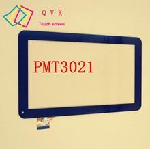 Negro de 10.1 pulgadas prestigio multipad PMT3021 wize 3021 3G 3G PMT3021_3G pantalla táctil digitalizador del sensor de cristal reemplazo