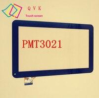Preto para 10.1 polegada prestigio multipad wize 3021 3g pmt3021 3g pmt3021_3g painel da tela de toque digitador sensor vidro substituição