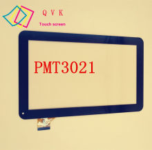 Zwart voor 10.1 inch prestigio multipad wize 3021 3G PMT3021 3G PMT3021_3G touch screen panel digitizer glas sensor vervanging(China)