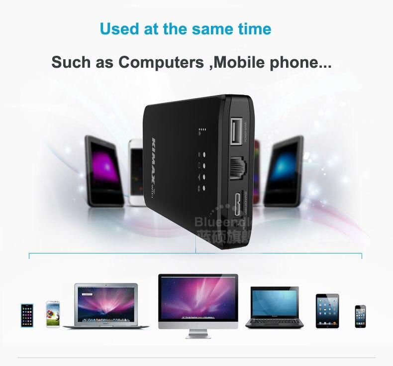 2015 Hot New Blueendless 4000mah Power Bank Sata To USB 3.0 Suit  2.5 Hdd Hard Caddy Disk Box Hdd Enclosure Portable WiFi U25AWF