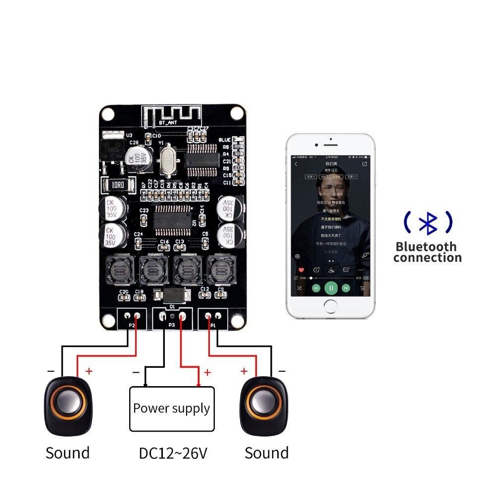 VHM 313 TPA3110 TPA3110D2 2x15W Bluetooth Digital Audio