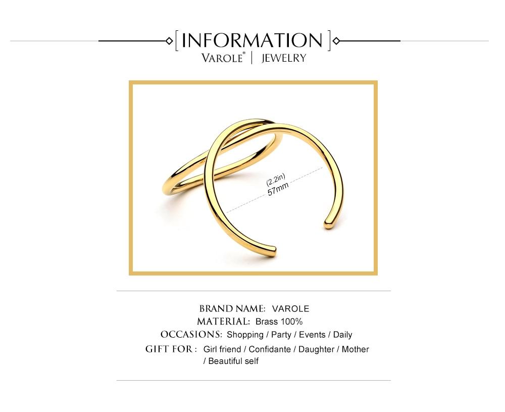bangles cor do ouro para mulheres marca