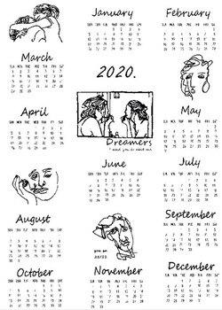 Calendario Adviento 2020.Gran Tamano 2020 Calendario Tela Impresa Pared Calendario Diario Anual Estudio Planificador Adviento Calendario Tela Colgante De Pared Deco