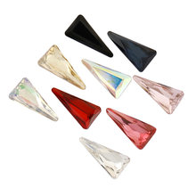 Astrobox высокое качество стеклянные бусины 8x16 мм хрустальные