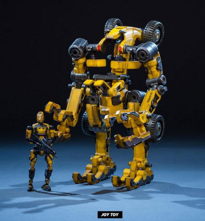 купить Funko Nendoroid Brinquedos Dark Iron Source Third Special Spot Joytoy Mecha Model Series Variant Engineering lps free shipping по цене 5996.7 рублей