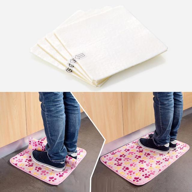 4 pz Adesivo Anti-slip Non-woven Carpet Zerbino Nastro Adesivo Pinza Piano Pasta