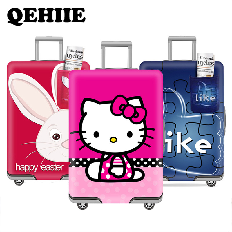 Suitcase Elastic Dust Cover Luggage Cover For 18~30 Inch Travel Password Box Trolley Case Protective Cover Travel Accessories