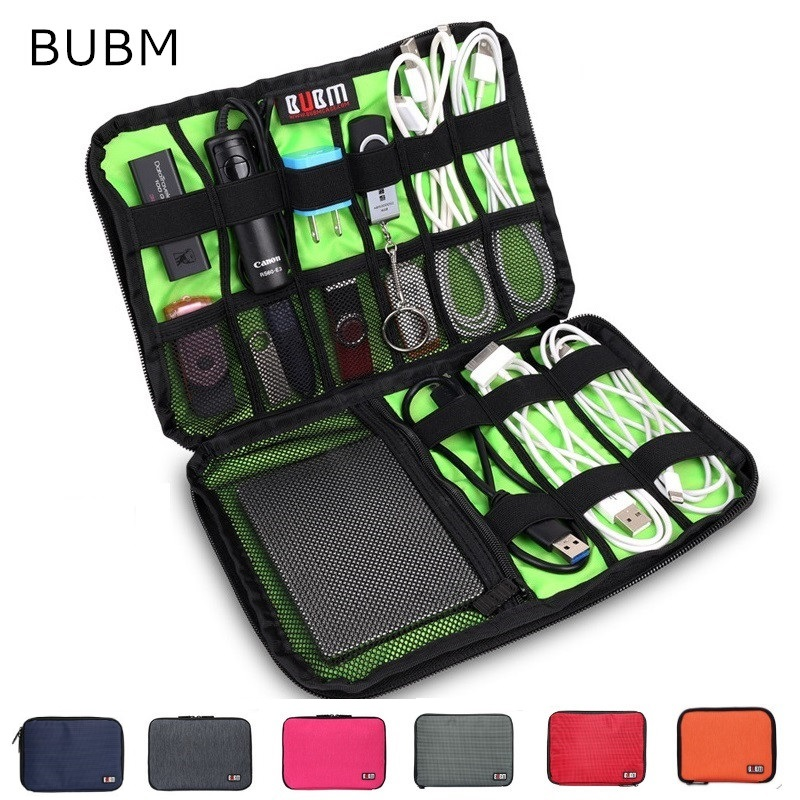 все цены на 2018 New Brand BUBM Case For ipad Air Pro, Storage Bag For Ipad mini Tablet, MID, Pouch for Power Bank,For Cable, Free Drop Ship онлайн