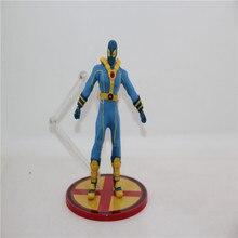 Wholesale Deadpool The Second Generation  X-Men (Bule) PVC Action Figure Collection Model Toys for Gift 6 inch 6 inch super deadpool x figure mezco deadpool x men wolverine x man