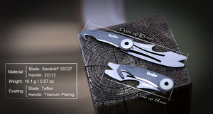 Image 3 - NEXTOOL Multi function Box Opener Box Cutter Mini Rescue Knife Taobar