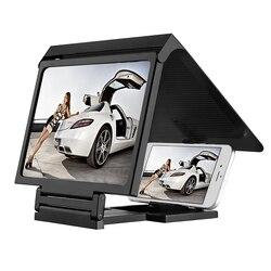 Black new hot 2016 mobile magnifier bracket folding portable screen hd amplifier for elephone .jpg 250x250