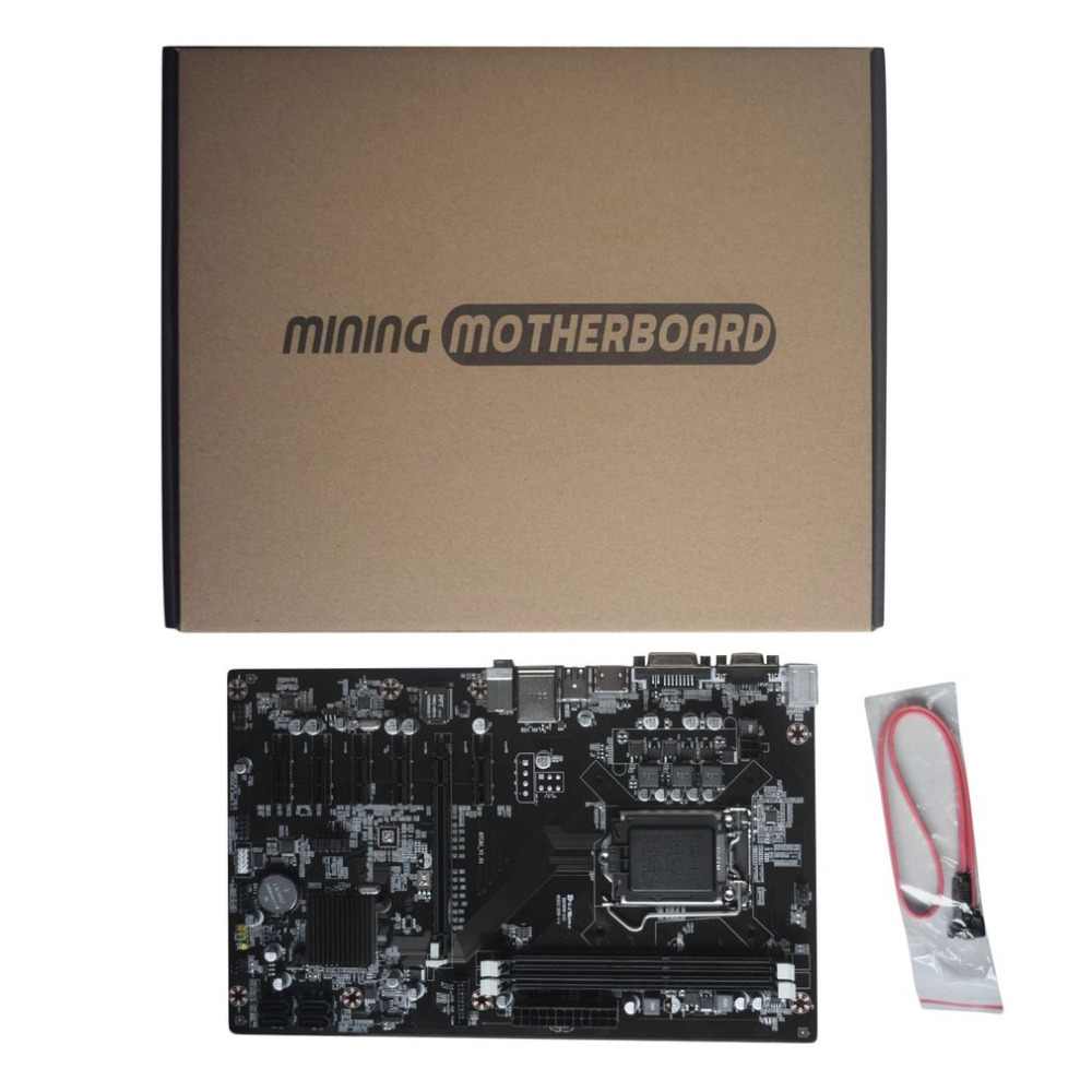 H81-BTC V1.01 Mining Board Mining Motherboard TB250-BTC CPU LGA 1150 DDR3 1066/ 1333/ 1600MHz Memory PCI Express 100%new and original in box mining industry motherboard for biostar tb85 lga 1150 ddr3 replace asrock h61 pro btc h81 pro btc