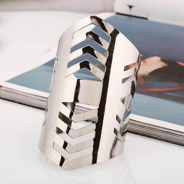 Купить lzhlq модные полые металлические браслеты 2019 женские макси
