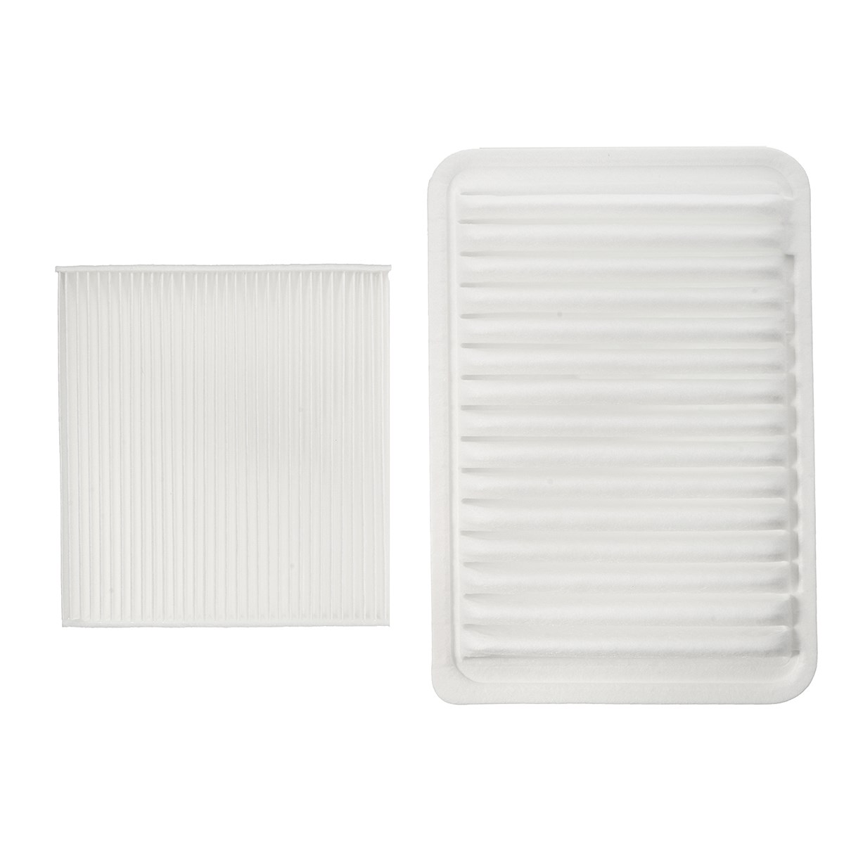 2 pcs set car engine cabin air filter for toyota camry venza