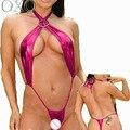 SZ072 venda quente da dança do pólo exposed peito lingerei erótico teddy perspectiva lingerie sexy quente trajes sexy lenceria sexy