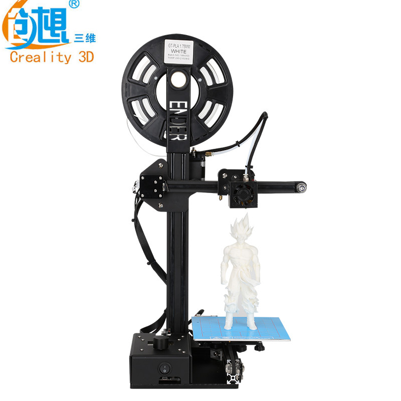 Full Metal 3D Printer DIY Ender-2 Mini Printer Kit With Plus Print Size 150*150*200mm With Free Shipping plus size drawstring hoodie with christmas decoration print