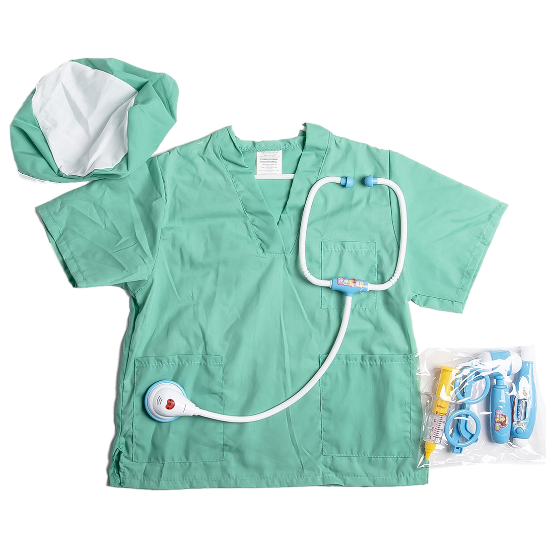 Doctor Nurse Clothes Play Costume Professional Doctor Assembly Decoration Doctor Play Props Children Play House Toy Role PlayDoctor Nurse Clothes Play Costume Professional Doctor Assembly Decoration Doctor Play Props Children Play House Toy Role Play