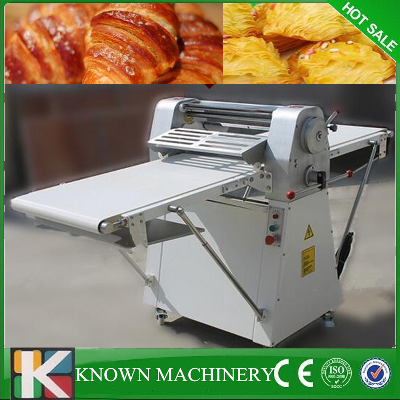 цена на Commercial dining hall, cake Storebakery equipment bread pizza dough sheeter machine free shipping 220v/380V/50Hz