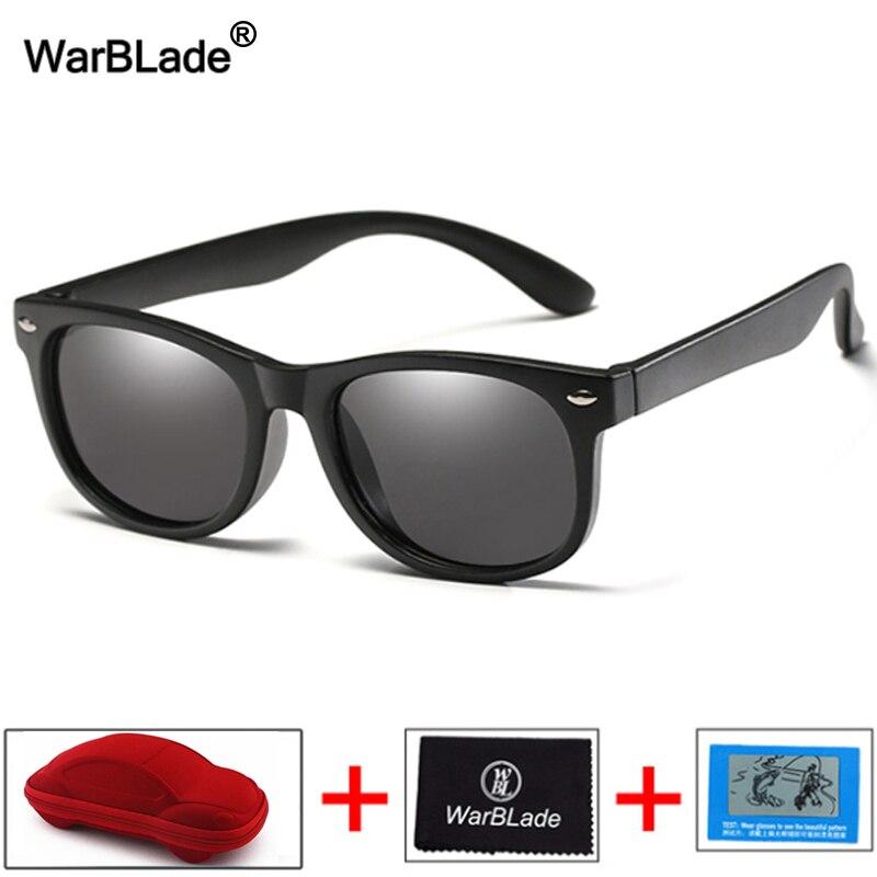 7e5bc0c27fe9d TR90 WarBlade Crianças Óculos Polarizados Óculos de Sol do Olho de Gato  para Crianças Meninos Meninas Óculos de Sol Óculos de Segurança Silicone  Bebê UV400 ...