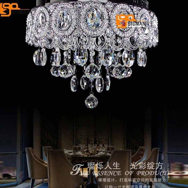 Vente chaude nouveau chrome lustre en cristal moderne lampen kristal