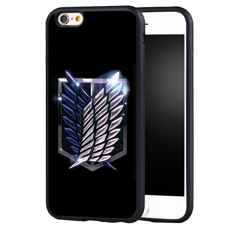 Cartoon Anime Attack on Titan case cover for Samsung Galaxy s4 s5 s6 S7 edge S8 plus note 2 3 4 5
