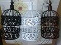 Wrought iron bird cage wall birdcage flower decoration fashion Classic iron bird cage decorative bird cages wedding 14*14*25cm