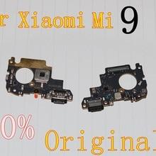 Для Xiaomi mi 9 зарядный порт mi 9 плата зарядного устройства гибкий кабель для Xiaomi mi 9 док-станция Сменные соединительные детали
