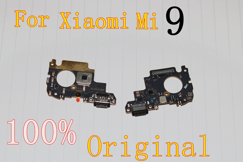 For Xiaomi Mi 9 Charging Port Mi9 Charger Board Flex Cable For Xiaomi Mi9 Dock Plug Connector Replacement Parts
