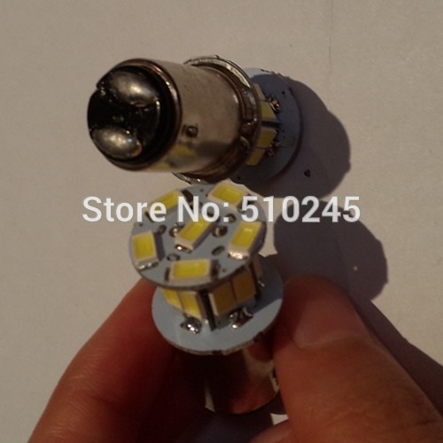 30X PY21W S25 BAY15D 1157 18 SMD 5630 18 LEDs bulb White/Blue lamp auto car brake lights rear lighting free shipping