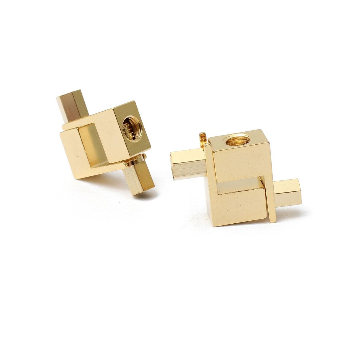 AK 12pcs  Banana Plug /> SPADE Adapter Fisher McIntosh Eico Amp Speaker plug New