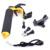 Câmera estabilizador para gopro estabilizador gatilho do obturador flutuante pega flutuabilidade vara para câmera de ação para o telefone xiaomi yi