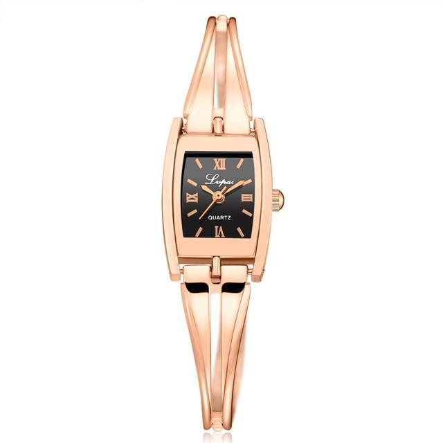 LVPAI Watches Women Stainless Steel Luxury Crystal Diamond Bracelet Watch For Woman Wristwatch Drop Shipping relogio feminino